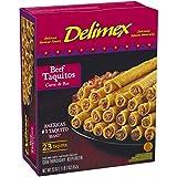 Delimex, Beef Taquitos, 23 oz (Frozen)