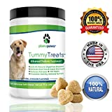 Tummy Treats, Best Probiotics for Dogs, Helps Dog Diarrhea, Dog Bad Breath, Constipation. Safe All Natural Dog Probiotics, Digestive Enzymes for Dogs, Relieves Allergies, Hot Spots, Upset Stomach