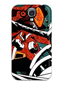 Galaxy S4 Case Cover - Slim Fit Tpu Protector Shock Absorbent Case (flcl Anime Other)