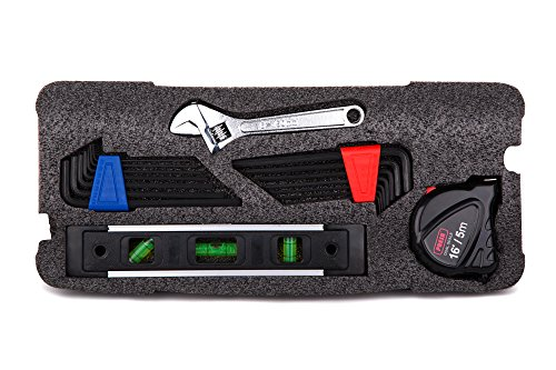 Presa Homeowner's Tool Kit Set, 150 Pieces of Essential Tools and Hardware You Need by Presa (Image #5)