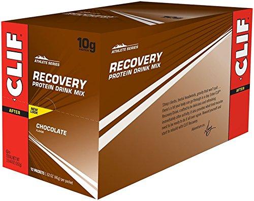 Mezcla de bebida de proteína CLIF recuperación - Chocolate - (16,05 oz, 1 cuenta)