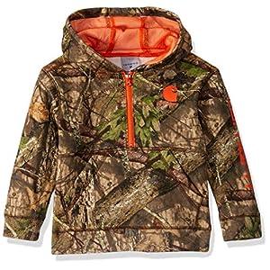 Best Epic Trends 5185t8h4m6L._SS300_ Carhartt Boys' Toddler Hooded Half Zip Sweatshirt