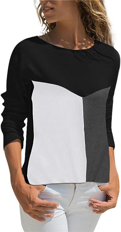 Btruely ❤️ Camisa Oficina Suelto Verano Blusa Fiesta Mujer ...