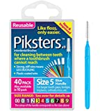 erskineDENTAL Piksters - for Cleaning Between Teeth-Size 5 (Blue)- 40Pk