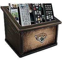 Fan Creations N0765-JAC Jacksonville Jaguars Woodgrain Media Organizer, Multicolored