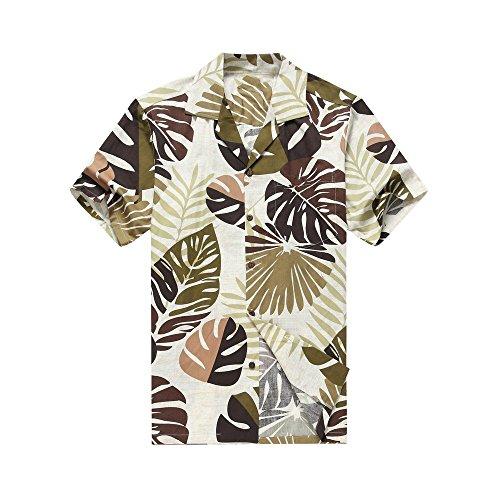 Leaves Mens Aloha Shirt - 9