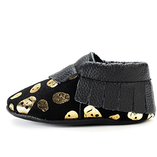 BirdRock Baby Moccasins - 30+ Styles for Boys & Girls! Every Pair Feeds a Child (US 9.5, Little Raskulls)