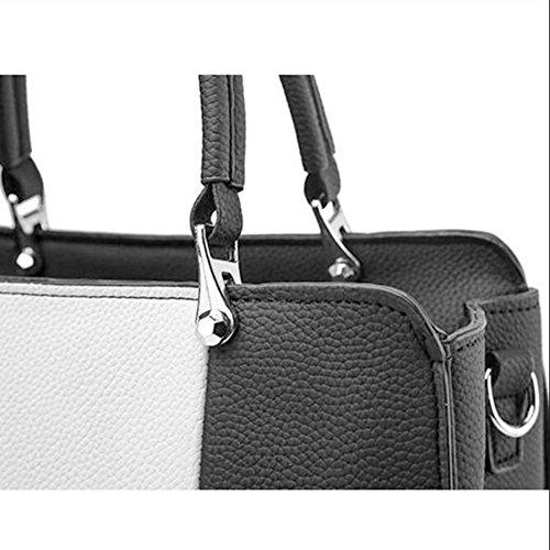 Fashion Clutches Tote Handbags Women's Shopping Handbag Bag Leather Bags Women Bag Bags Bag Shoulder Shoulder Women Darkgray Bag OqIwZqR