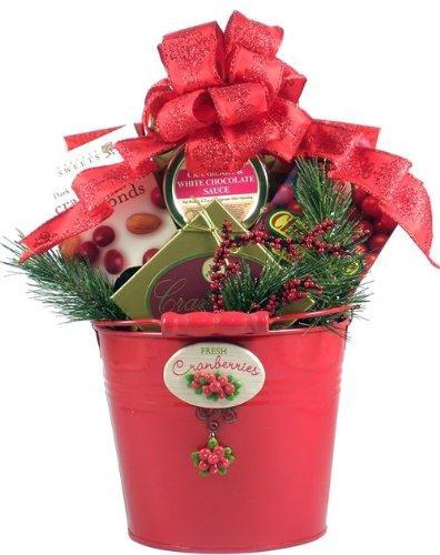 Gift Basket Village Cranberry Delights Holiday Gift Basket