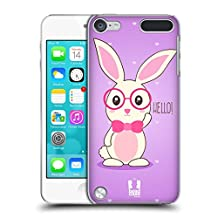 Head Case Designs Geeky Sofie The Bunny Hard Back Case for Apple iPod Touch 4G 4th Gen