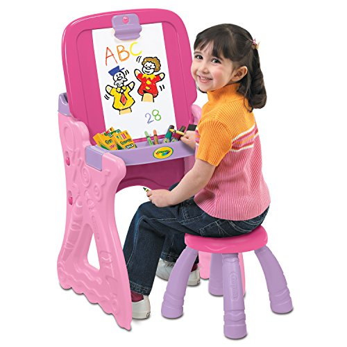 (Crayola Play N Fold Art Studio, Pink)