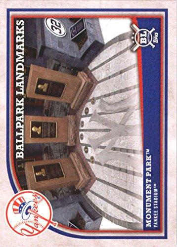 - 2018 Topps Big League Baseball #365 Monument Park New York Yankees MLB Trading Card
