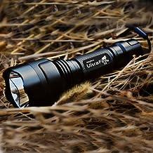 UltraFire C8 CREE XM-L2 T6 2000Lm 5 Modes LED Flashlight
