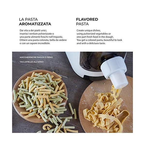 PASTAIO | Macchina per la Pasta Fresca e per gli Impasti. Pasta Maker, fino a 800g di pasta per ciclo, pesatura… 3