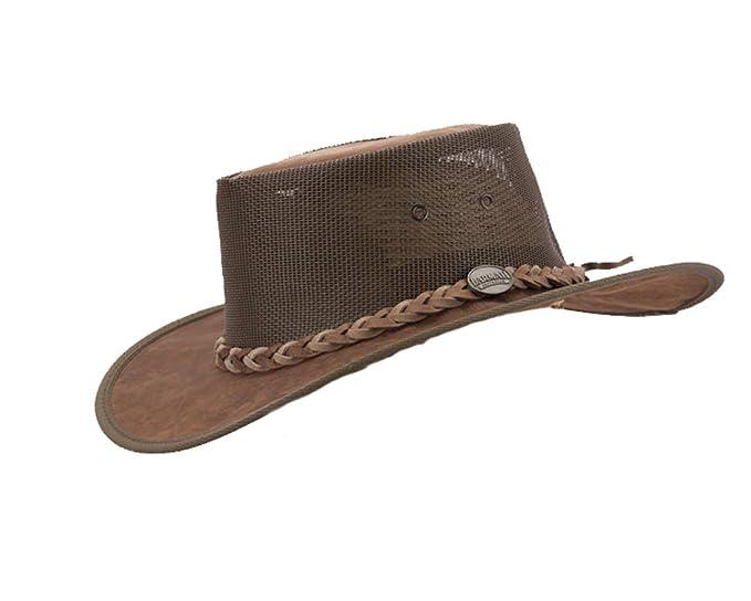 10ef56154878f Barmah Real Australian Kangaroo Leather Cooler Hat. Original Hat-in-a-Bag.  Made in Australia. Hickory
