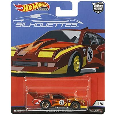 Hot Wheels Car Culture 76 Chevy Monza: Toys & Games