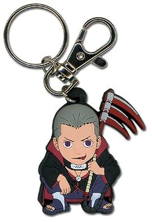 Amazon.com: Naruto Shippuden Hidan PVC Keychain: Toys & Games