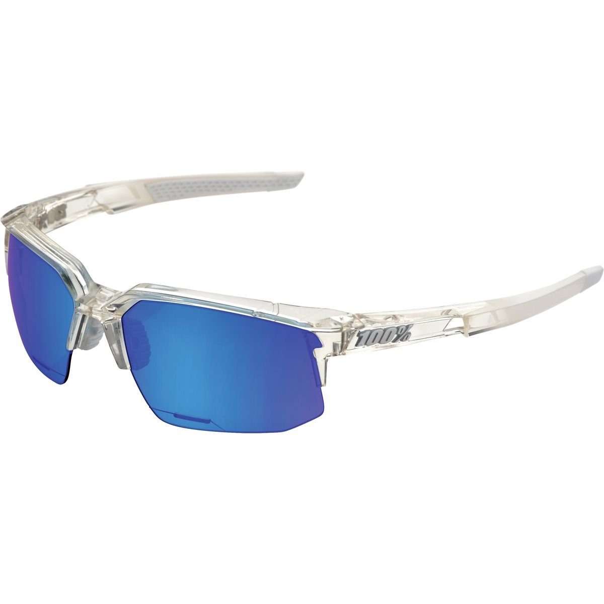 100% APPAREL B073ZM8SSQ One Size|Aurora (With) Ice Blue Mirror Lens Aurora (With) Ice Blue Mirror Lens One Size