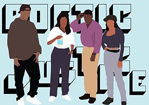 Justice Design Fan (Hip Hop Art, Poetic Justice - Movie)