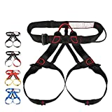 ShiningLove Climbing Harness Protect Waist Leg Climbing Harness Safe Seat Belts Band Aerial Work Safety Belt