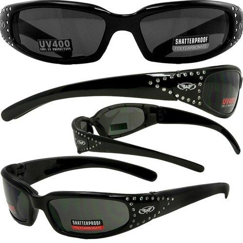 Marilyn-3 Motorcycle Sports Eyewear Smoke Lenses Smaller Faces