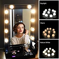 Led vanity mirror string lights