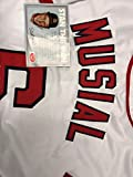 Stan Musial Autographed Signed White St. Louis Cardinals Jersey Stan The Man STM Inc COA & Hologram