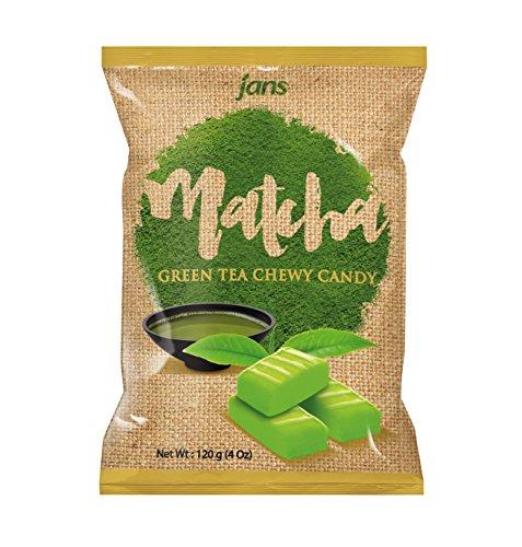 Jans Milk Chewy Candy (Matcha, 4 oz)