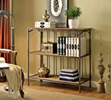 Furniture of America Emilia 2-Shelf Display Case