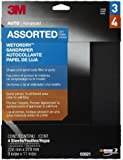 "3M 03021 Wetordry 9"" x 11"" Sandpaper Sheet with Assorted Grit Sizes"