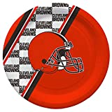 Duck House NFL Cleveland Browns Disposable Paper Plates, Pack of 20