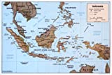 Map Poster - Indonesia. - 24''x16.5''