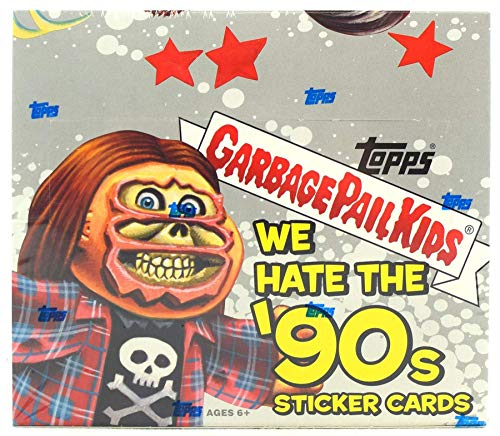 Garbage Pail Kids Series 1 We Hate The 90's Retail Display Box Trading Sticker Cards