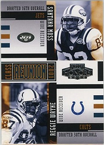 2005 Playoff Honors Class Reunion #CR15 Reggie Wayne NM-MT Colts (For Honor Best Class)