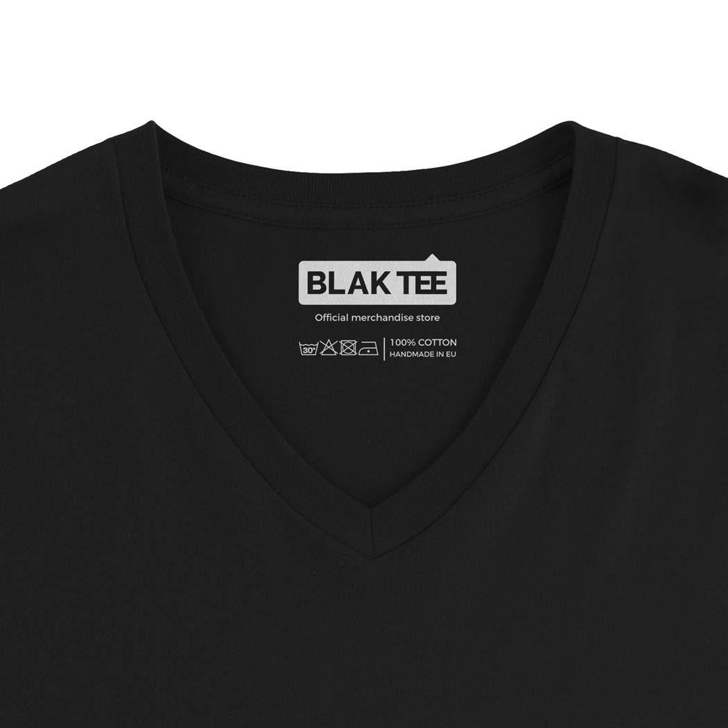 BLAK TEE Kickboxer MMA Logo Homme D/ébardeur