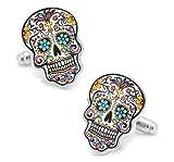 Aim and Acheive Dia De Los Muertos - Fantasy - Sugar Skulls - All Saints Day - Cuff Links - SS Cuffs11