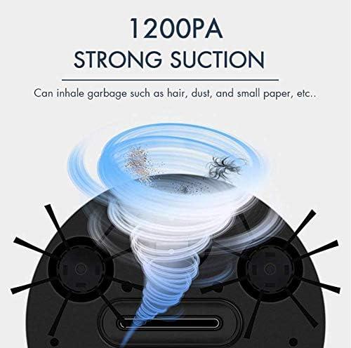 3 en 1 Robot Intelligent de Balayage, Balayage/Aspiration/Drag 1200PA Humide et Aspirateur Automatique à Sec électrique Sweeper jianyu
