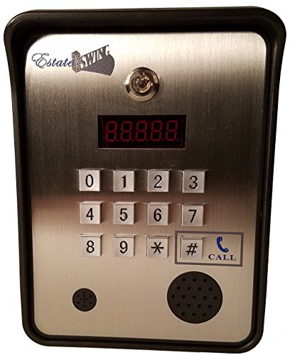 (Estate Swing Wireless Cellular Telephone 3G-GSM 4-in-1 Security Intercom Key Pad (EST-200))