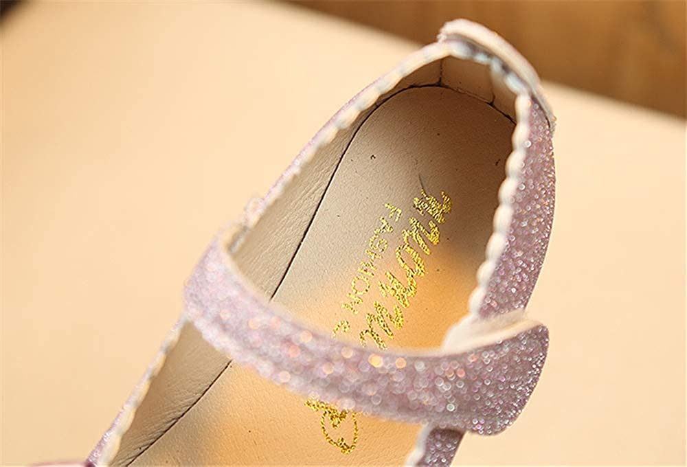 Little Girls Adorable Sparkle Mary Jane Princess Party Dress Shoes