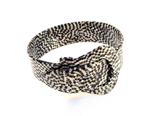 Handmade Buckle (Wardani, Cuff Buckle Shape Bracelet, elegant & Chic Handmade in France special colors)