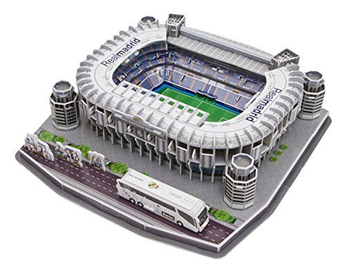 Nanostad Real Madrid Santiago Bernabeu Stadium 3D Puzzle by Nanostad