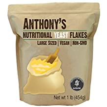 Anthony's Premium Nutritional Yeast Flakes (1lb), Verified Gluten Free