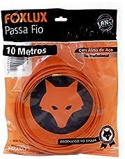 Passa Fio Alma de Aço Foxlux – 10 Metros – PP de alta resistência – Qualidade profissional – Indicado para instalações elétricas