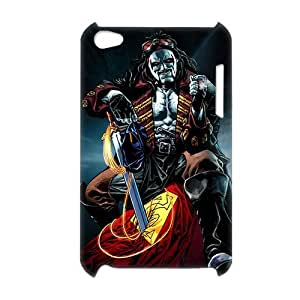 3D Print Classic US Comics Superheros Series&Lobo Theme Case Cover for iPod Touch 4 - Personalized Hard Back Protective Case Shell-Perfect as gift