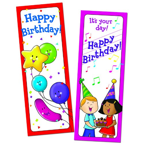 Creative Teaching Press Happy Birthday Bookmark (0929)