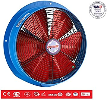 Ventilador Axial Ventilador Industrial metal ventilador de pared ...