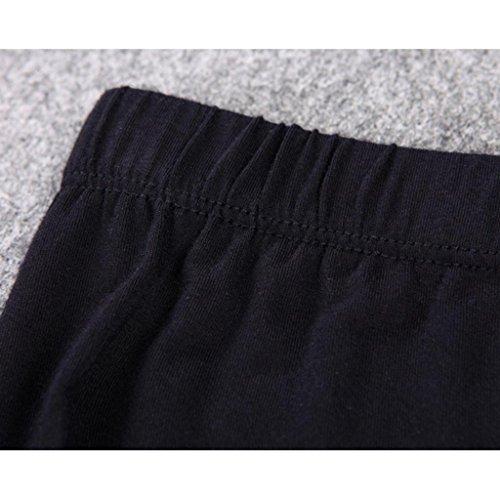 Liang Rou Women's Crewneck Stretch Top & Bottom Thin Underwear Set Black M Medium / 8-10 1 Set Black by Liang Rou (Image #7)