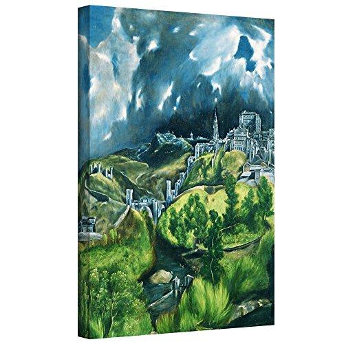ArtWall El Greco's View of Toledo Gallery Wrapped Canvas, 18