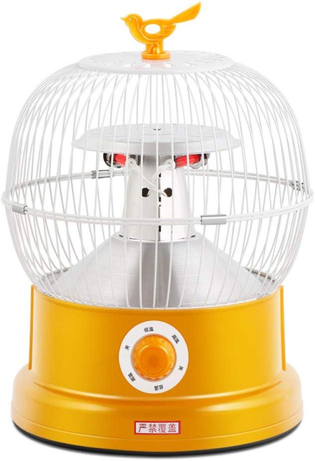 YYANG Big Bird Cage Heater Mahjong Table Bird Cage Estufa De Asado Termostato De Dormitorio De Alta Potencia Calentador Eléctrico