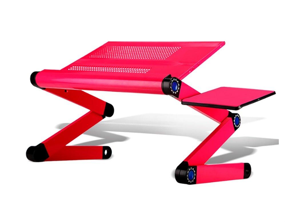 ZJM 調整可能なデスクトップコンピュータのテーブル変動テーブルテーブルを持ち上げるラップトップデスクマウスボード ( 色 : Pink with mouse board ) B079BQQLB3 Pink with mouse board Pink with mouse board